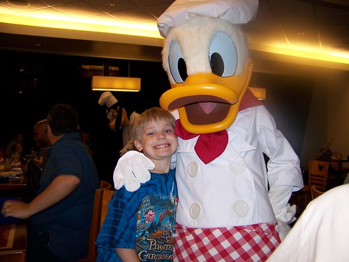 Matthew and Donald @ Chef Mickey's