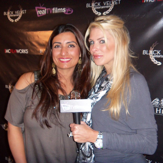 Nikki Sood, Jennifer Lexon, Hess Group Black Velvet Trunk Show