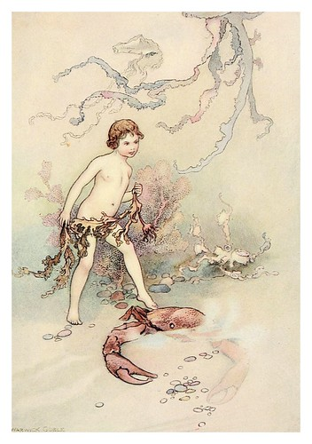 010-The water-babies a fairy tale for land-baby 1909-ilustrado por  Warwick Goble