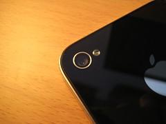 iPhone4 背面ガラス修復