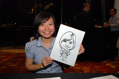 caricature live sketching for 2010 Asia Pacific Tax Symposium and Transfer Pricing Forum (Ernst & Young) - 6