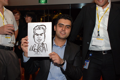 caricature live sketching for 2010 Asia Pacific Tax Symposium and Transfer Pricing Forum (Ernst & Young) - 9