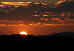 Rise and Shine! (Cavtuf) Tags: morning orange sun afghanistan start sunrise day shine sunrays fireball sharana