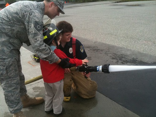 using the fire hose