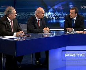 Pat Rabbitte and Pat Carey on Prime Time