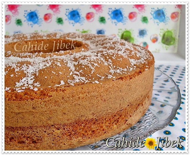 Balkabak,tarçınlı,cevizli kek