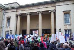 Anti-cuts protest in Gloucester