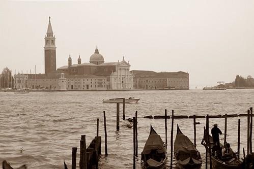 Venezia e...l'isolotto di San Giorgio Maggiore