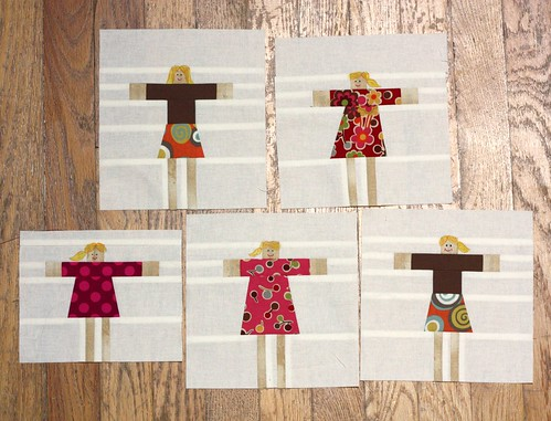 Mini-Me's for Blocks of a Feather