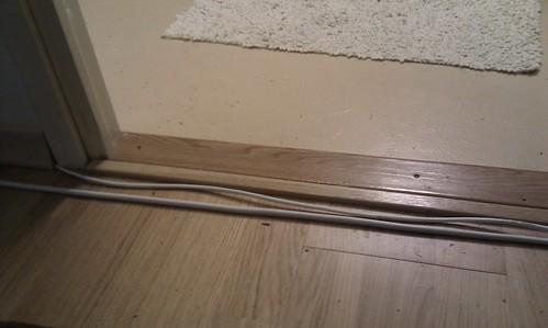 Kabelkanal tröskel