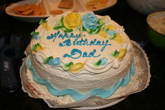 my grandfather's 92nd birthday! (cybermelli) Tags: birthday new york old family party cake island doll long grandfather grandpa blythe years 92