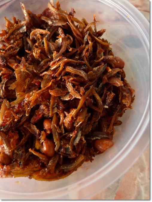 Sambal Ikan Bilis dan Kacang