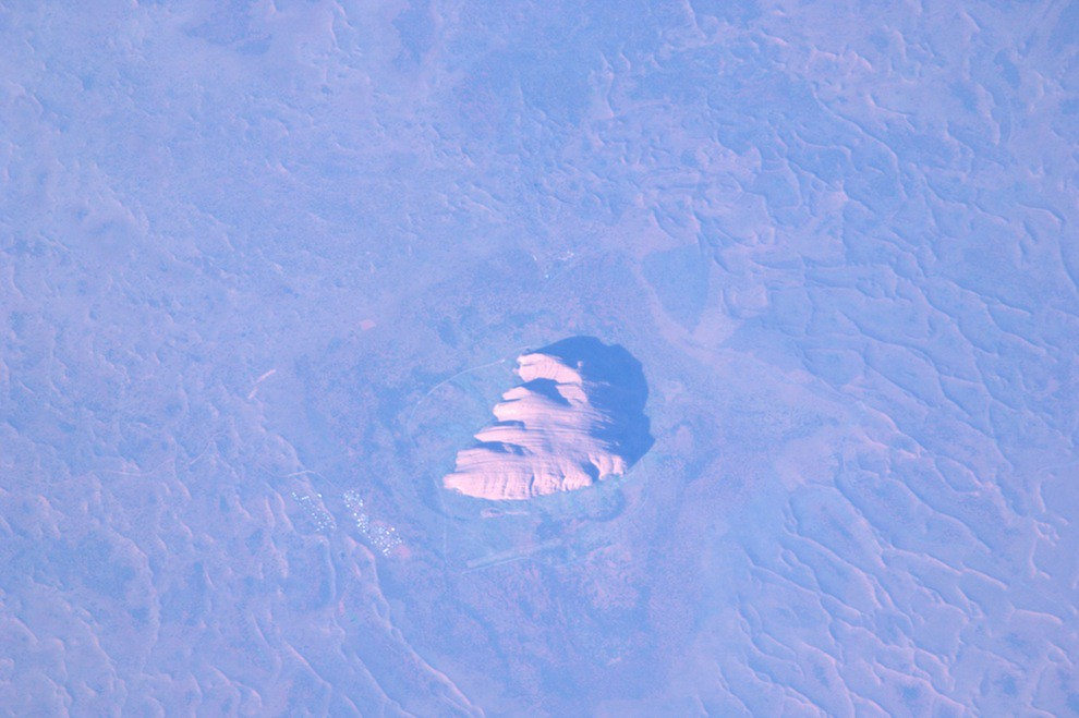 Incredible Photos from Space: Ayers Rock