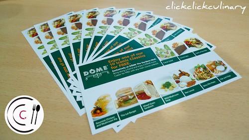 Dome Food Vouchers