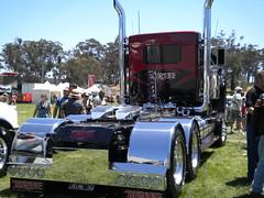 Thorpe's Kenworth T950 (KW BOY) Tags: show tractor truck nine transport australia lorry rig joker trucks interstate custom 50 castlemaine 2010 kenworth the thorpes t950