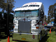 Thorpe Interstate Kenworth K108 Stretch (KW BOY) Tags: show tractor truck cab transport over australia stretch lorry thorpe rig trucks interstate custom castlemaine coe trucking 2010 kenworth aerodyne k108