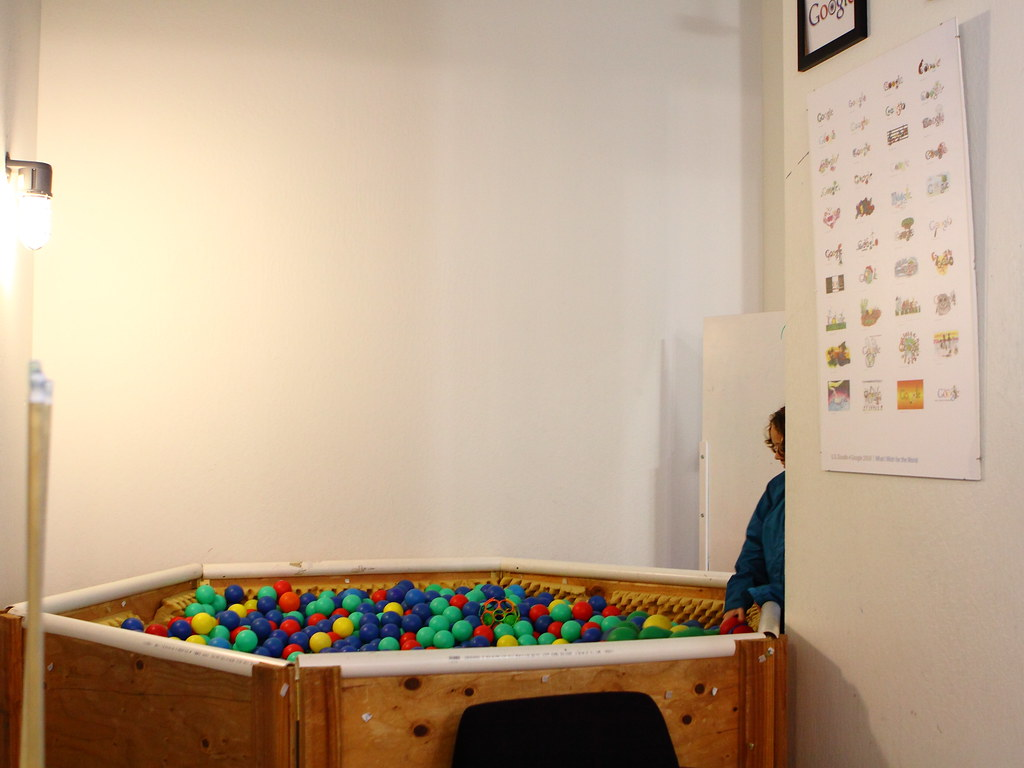 Google ball pit