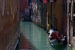 A Gondola (wijew) Tags: venice italy canal dev gondola gondolier wijewardane