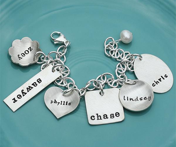 eclectic charm bracelet