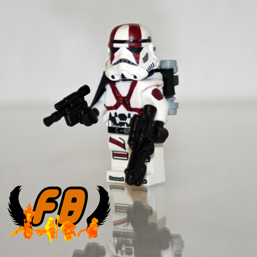 CREATIONS FOR CHARITY - Stormtrooper X (Jasbrick Homage)