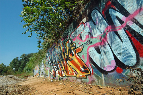 Graffiti wall in Asheville's River Arts District declared off-limits