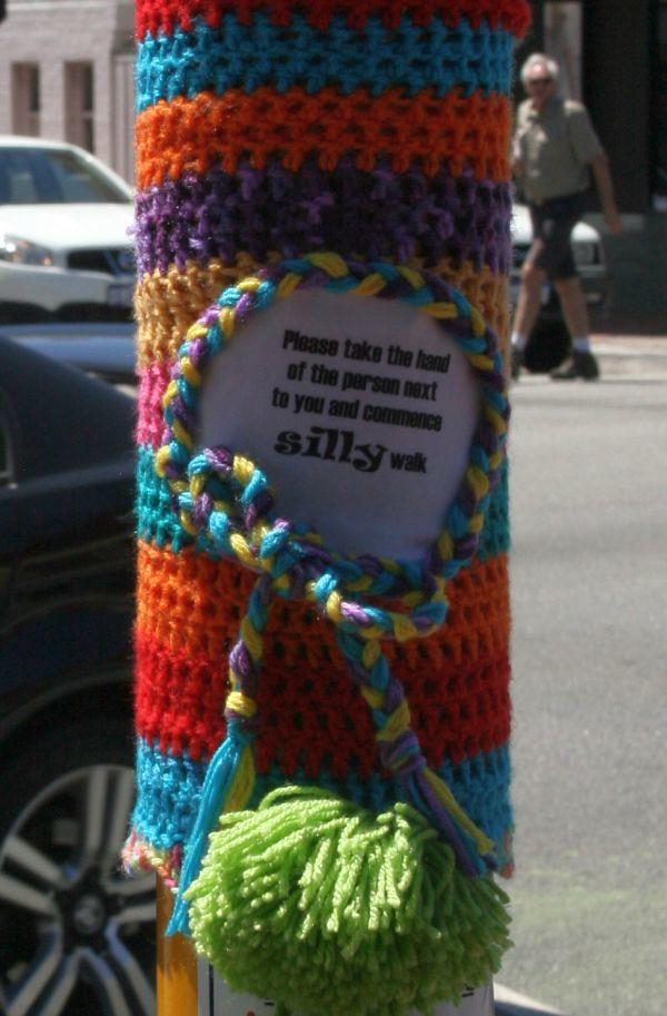 knit silly walk