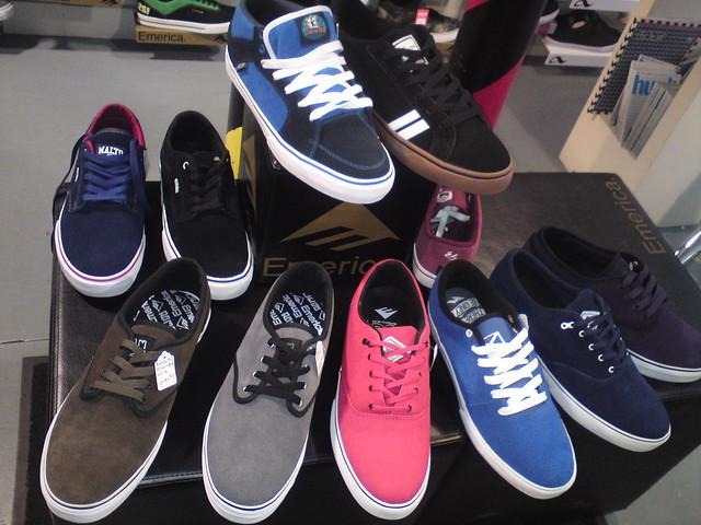 Manchester skate shoe shop.