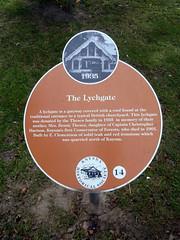 Photo of Orange plaque number 5104