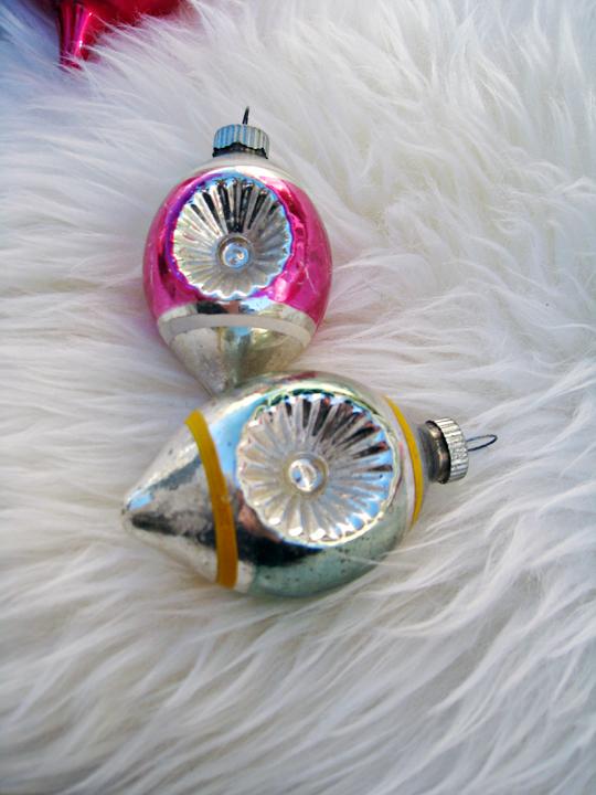 vintage christmas tree ornaments - 1