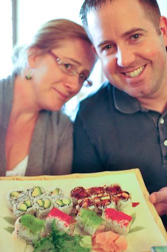 Festive sushi