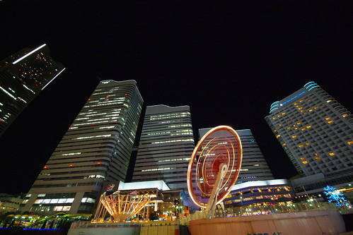 Yokohama Night Skyline