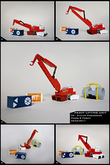 Heavy Lifting Unit (Pierre E Fieschi) Tags: industry lego crane pierre micro future heavy load logistics unit lifting microspace fieschi microscale microspacetopia fturistic