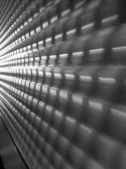 Ride It Up (Jeremy Brooks) Tags: blackandwhite bw motion blur wall blackwhite escalator bart transit iphone montgomerystreetstation