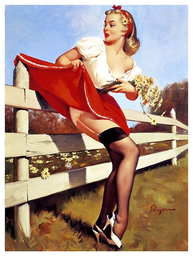 017-Gil Elvgren-sin fecha- via Imagenetion-Virtual Pin-ups Art Gallery