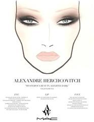 Face Charts M.A.C (Girlswstyle) Tags: make mac makeup maquiagem spfw alexandreherchcovitch facechart