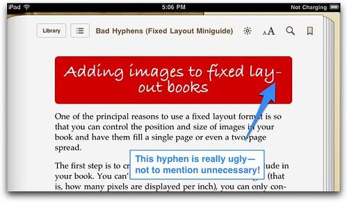 Bad hyphens