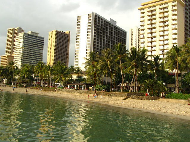 Waikiki Beach, Honolulu, Oahu, Hawaii
