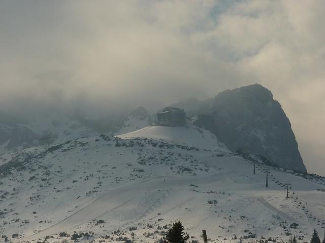 Osterfelderkopf - Ski-WM, Tag 7, oben zum Skifahren
