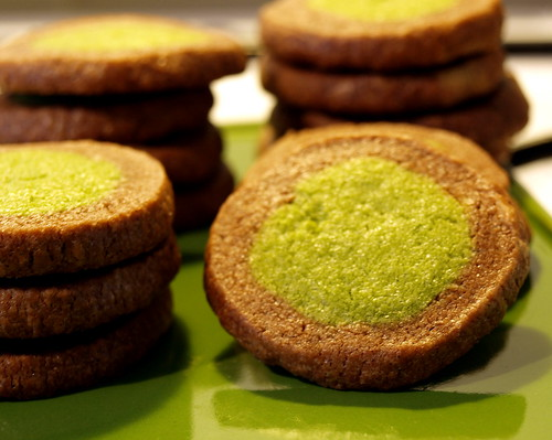 Matcha Chocolate Cookies