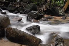 Deruan air gunung Ulu Chepor - 9e (Dato' Professor Dr. Jamaludin Mohaiadin) Tags: mountain water cool nikon stream dr malaysia slowshutter prof ipoh ulu dato perak d90 chepor jamaludin mohaiadin