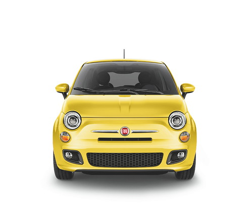 New 2012 Fiat 500 in Giallo
