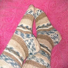 Easy stockinette socks