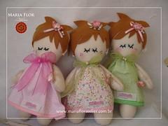 Os modelinhos que sero presenteados (mariafloratelier2) Tags: happy doll felt jardim feltro boneca aniversrio maternidade lembrancinha jardimdasbonecas