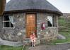 Our hut at Semonkong Lodge (Hans van der Boom) Tags: holiday vacation southafrica zuidafrika sawadee maseru lesotho people marjon woman hut lodge lso semonkong