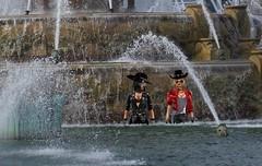 Buckingham Fountains, Chicago (SoakinJo) Tags: soakinjo soakin jo wet wetlook wetclothes wetclothing imvu wetjeans fountain clothedinfountain chicago buckinghamfountain