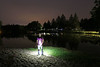 Pond Life (scienceduck) Tags: scienceduck july 2017 pond camp camping water lake lightpainting longexposure wideangle night hawkeye clintbarton me moi selfportrait