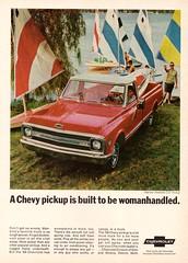 1969 Chevrolet Half-Ton Fleetside CST Pickup (aldenjewell) Tags: 1969 chevrolet half ton fleetside cst pickup truck ad
