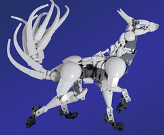 Kayru (dviddy) Tags: bionicle herofactory ccbs constraction actionfigure toy lego moc mocs legomocs kitsune kayru bzpower bzp fox wolf canine canidae forestspirit toys sculpture dviddy deevee