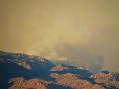 20170701 Forest Fire Smoke on the East Side of the Catalina Mountains (lasertrimman) Tags: 20170701 forest fire smoke east side catalina mountains forestfiresmoke catalinamountains