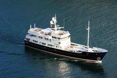 "Yacht ""PIONEER"" (wespfoto) Tags: yacht motoryacht pioneer newfoundland canada july stjohns canadaday signalhill narrows wespfoto vessel ship boat summer"